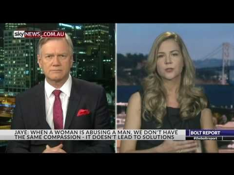 Cassie Jaye on The Bolt Report - The Red Pill Movie