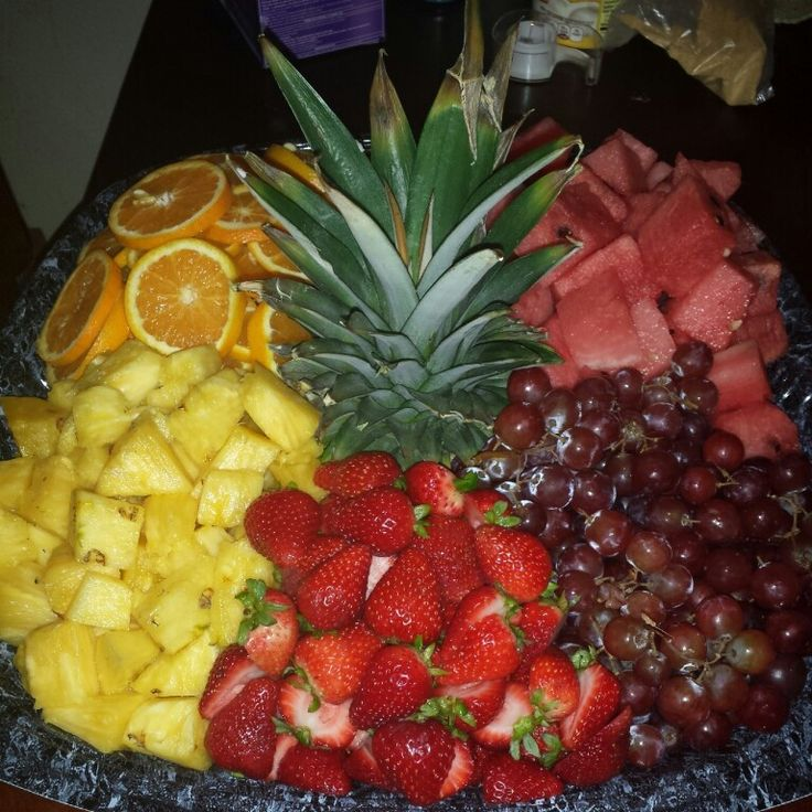 DIY Fruit tray