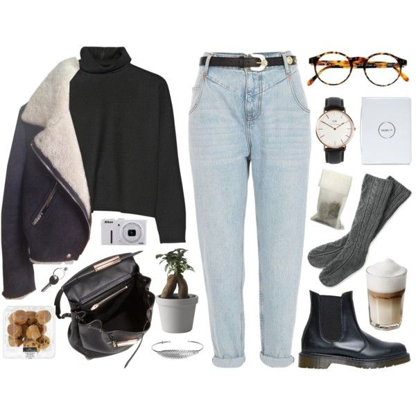A fashion look from November 2014 featuring Marni sweaters, River Island jeans and Dr. Martens boots. Browse and shop related looks.