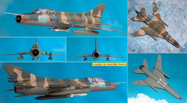 Sukhoi Su-22U (Fitter E) 1:72