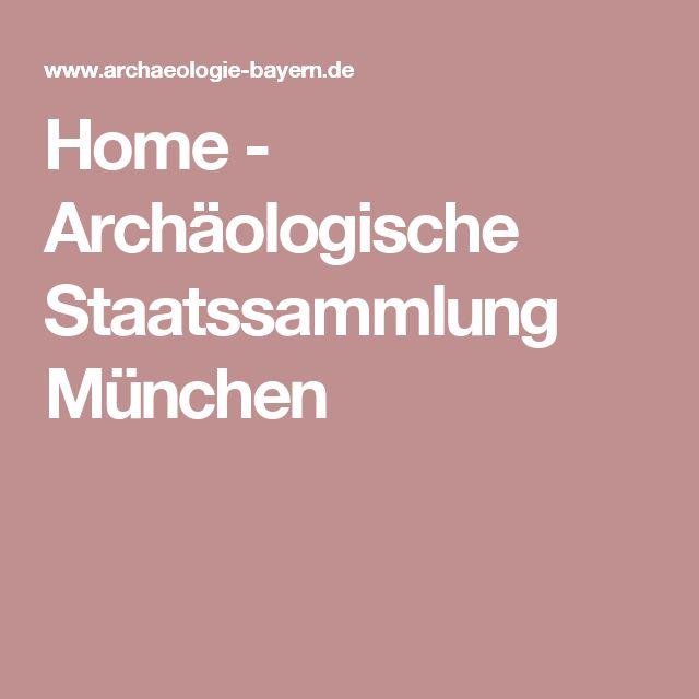 Home - Archäologische Staatssammlung München