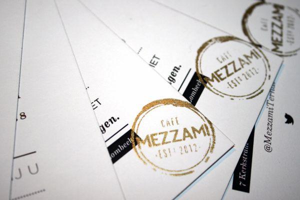 logo / Mezzami Cafe by Emily J Fischer