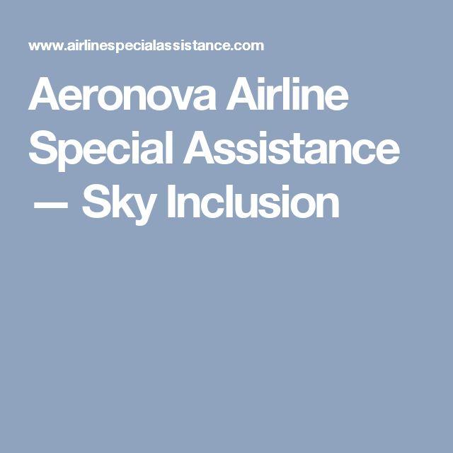 Aeronova Airline Special Assistance — Sky Inclusion