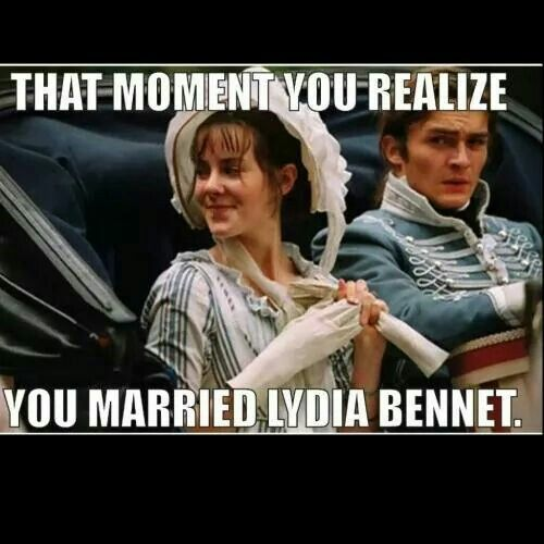"""Pride and Prejudice, that moment of, """"We all totally missed that moment when he realized what he's done."""""""