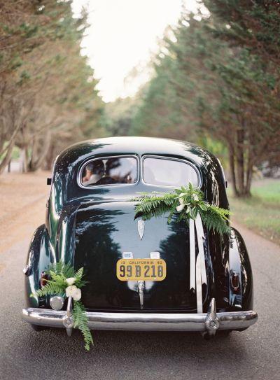 Sleek getaway cars: http://www.stylemepretty.com/collection/3267/