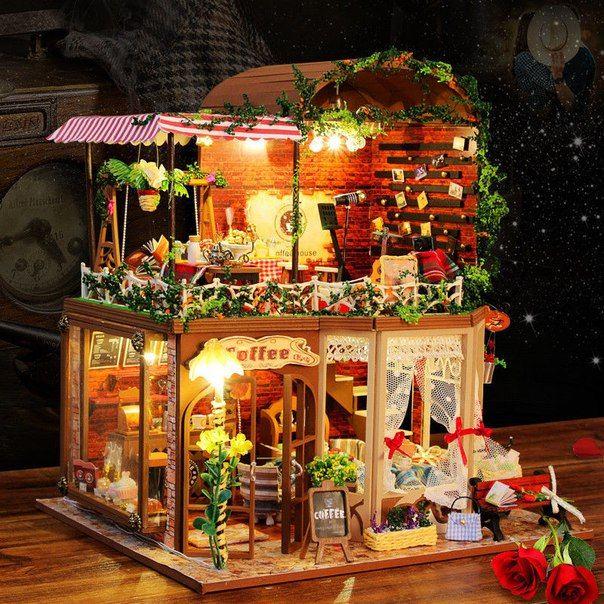 Dollhouse Miniature Diy Kit W Light Cake Store Bakery: 18 Best Adventure/Travel Themed Room Images On Pinterest