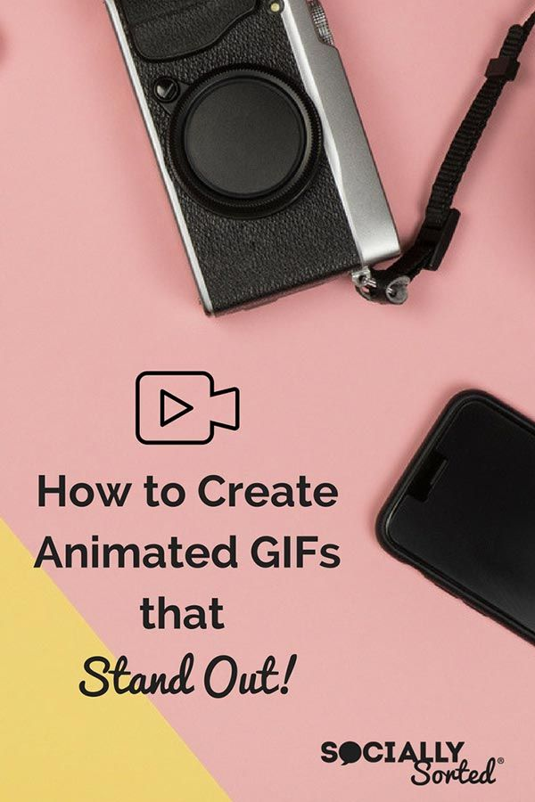 Have you considered Animated GIFs as part of your visual content creation? Learn How to Create Animated GIFs that Stand Out! via @sociallysorted