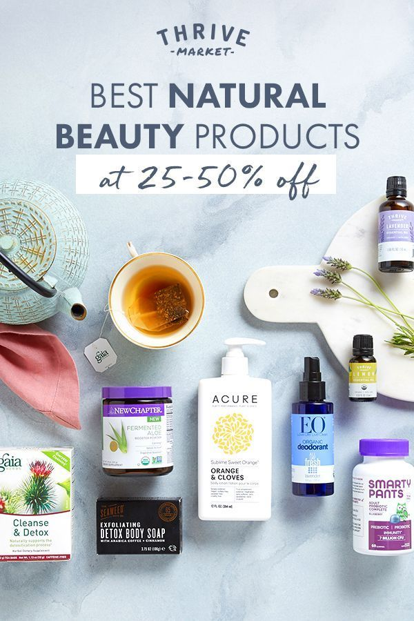 Best Natural Beauty Products At 25 50 Off Shop Thrive Market For All Your Beauty Needs Homeremediesfo In 2020 Natural Cough Remedies Natural Skin Care Acne Reasons