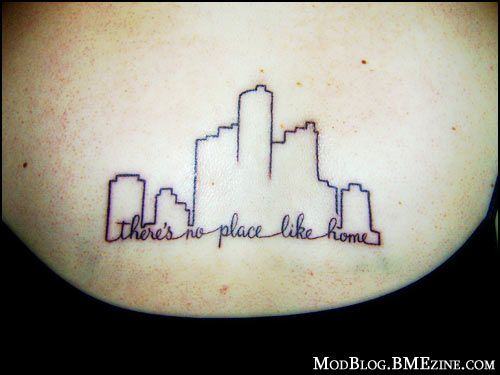 there's no place like home tattoo Detroit