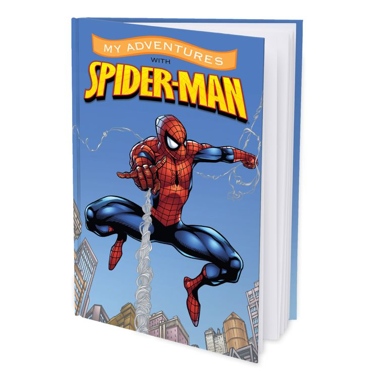 See how happy your child will be when they read their personalized My Adventures with Spider-Man book and discover the story is all about them!