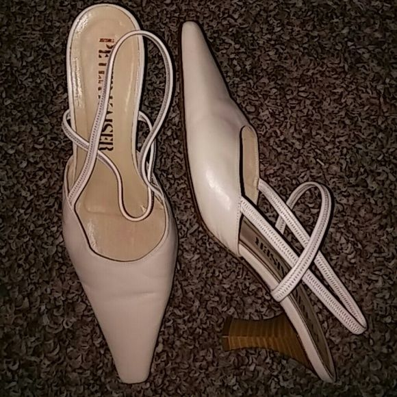 Peter Kaiser Slingbacks Shoes Size 4 Preowned Great Condition Peter Kaiser Shoes Heels