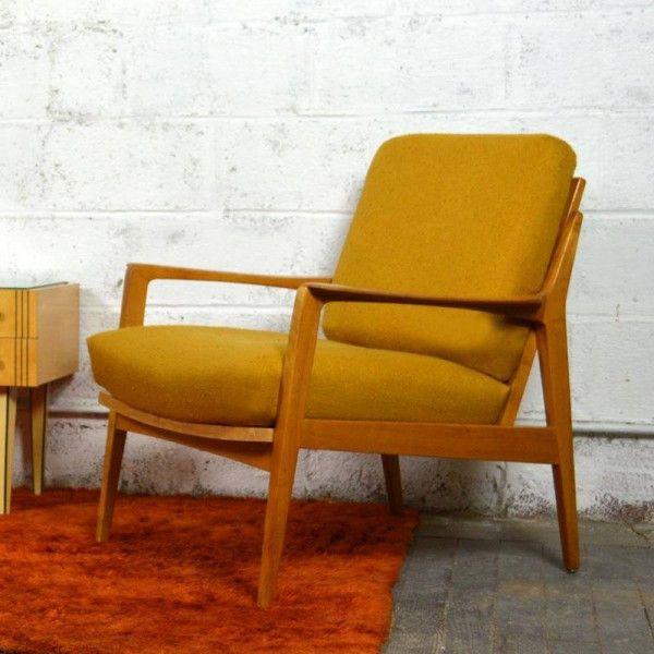 les 25 meilleures idees concernant fauteuil scandinave sur With lovely meuble cuisine maison du monde 5 petit fauteuil en tissu jaune vintage maison du monde