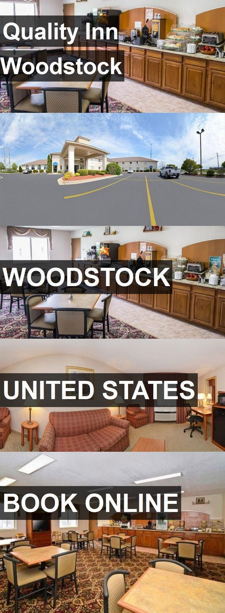 Hotel Quality Inn Woodstock in Woodstock, United States. For more information, photos, reviews and best prices please follow the link. #UnitedStates #Woodstock #QualityInnWoodstock #hotel #travel #vacation