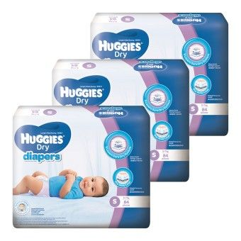 Buy Huggies Dry Diapers S84 x 3 Super Jumbo pack online at Lazada Malaysia. Discount prices and promotional sale on all Real Deals. Free Shipping.
