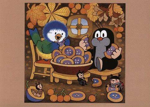 (2014-08) Muldvarpen og musvitten spiser kager