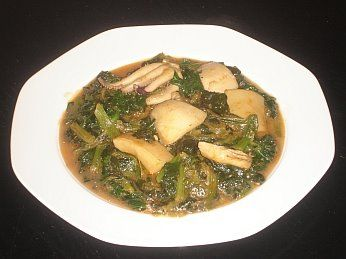 Greek Cuttlefish with Spinach (Soopyes and Spanaki)