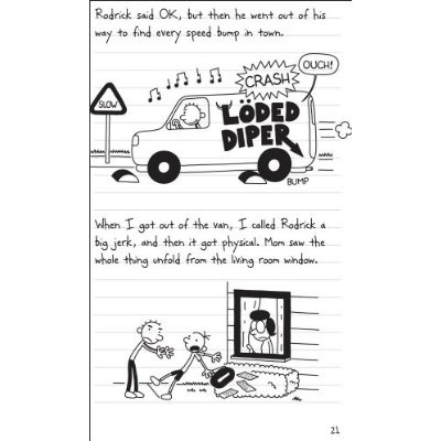 Diary of a Wimpy Kid :: Rodrick Rules Book Review