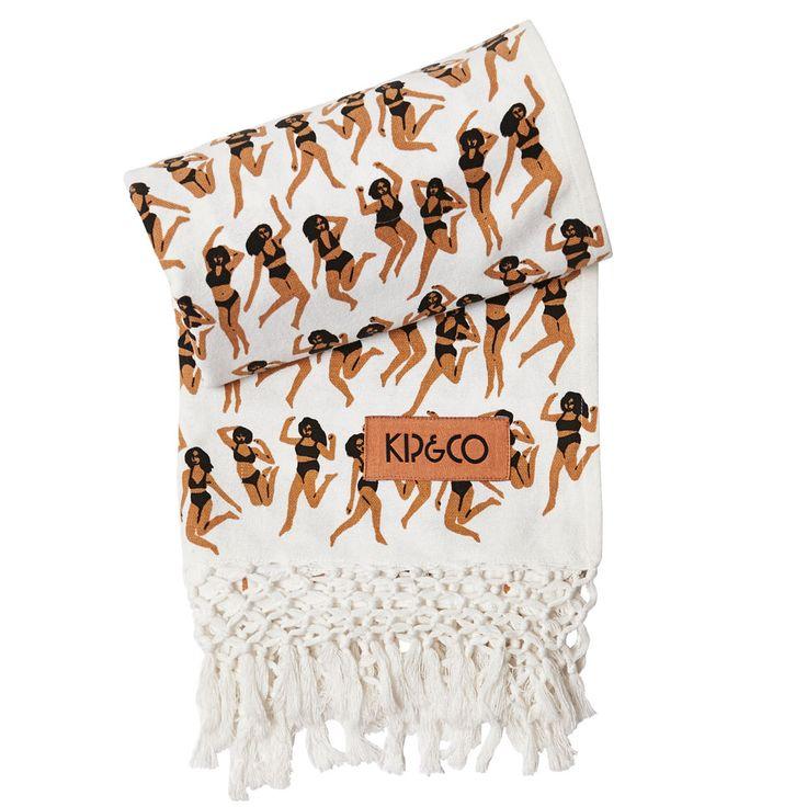 Kip & Co   SS15 Hammam Towel – Dancing Girls