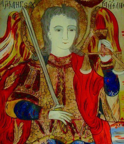 Icoană - Prodan, PetruSfântul Arhanghel Mihail - Muzeul Naţional al Unirii - ALBA IULIA (Patrimoniul Cultural National Mobil din Romania. Ordin de clasare: 2113/04.03.2011 - Fond)