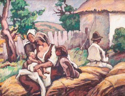 Camil Ressu - Familie de ţărani