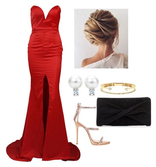"""""""Red carpet ❤️"""" by lisawijaya ❤ liked on Polyvore featuring Giuseppe Zanotti, Reiss and Delfina Delettrez"""