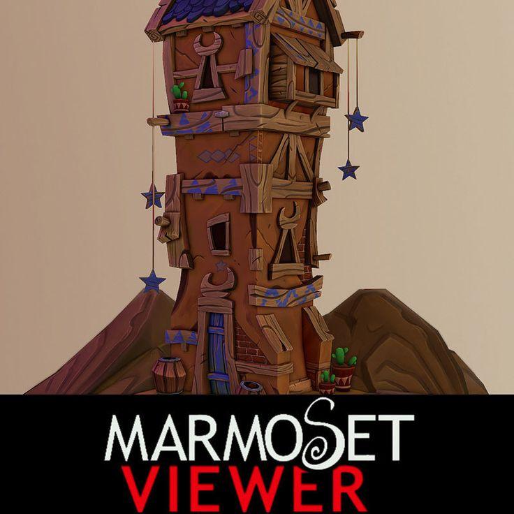 Moon House, Michael Barrington on ArtStation at https://www.artstation.com/artwork/moon-house-d39d500c-e202-4103-987e-18e81078df0f