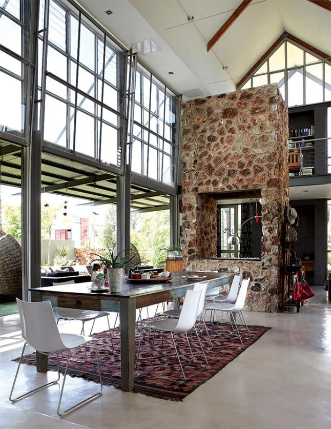 Una casa de estilo industrial en petroria hogar for Decoracion estilo industrial