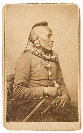 As-sau-taw-ka (aka White Horse) - Pawnee – 1868