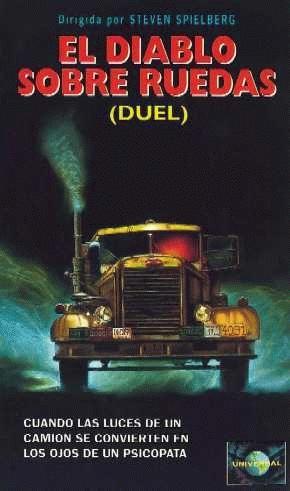 El diablo sobre ruedas (1971) EEUU. Dir: Steven Spielberg. Suspense. Terror. Road Movie - DVD CINE 271