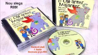 Olifanter-Majanter luister cd. #afrikaans #luisterstories #kinderpret