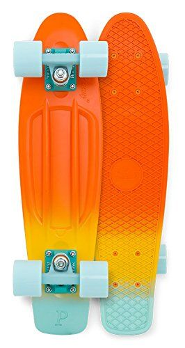 Penny Board The Original Penny Skateboard 22 Neptune Fade Retro Cruiser by Penny Skateboards -- Learn more by visiting the image link.