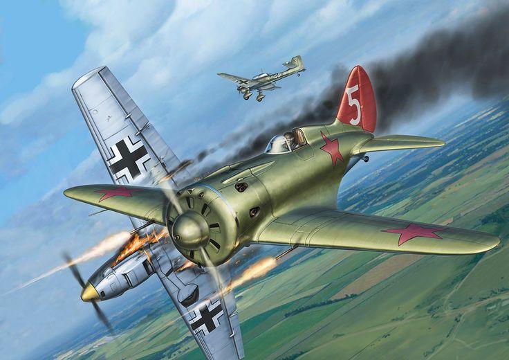 i-16 x stuka by jaoblack on DeviantArt | Russian Warbirds ...