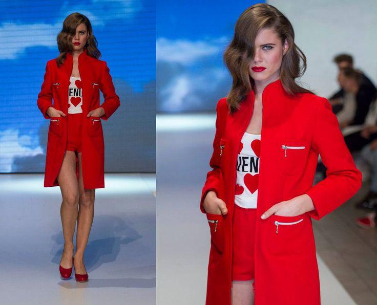 Petra Poórová fashion show