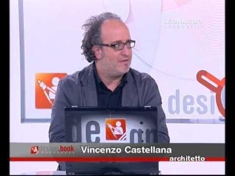 1° PARTE Leonardo TV / DESIGN BOOK . Vincenzo CASTELLANA, architetto . d...
