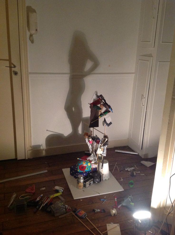 Ombre portée - silhouette