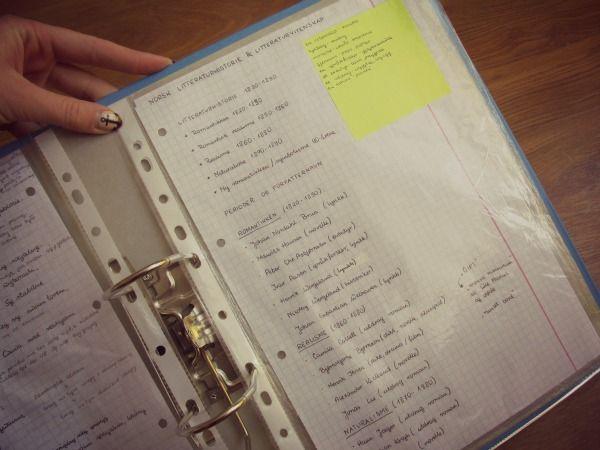 Jak zorganizować notatki na studiach?