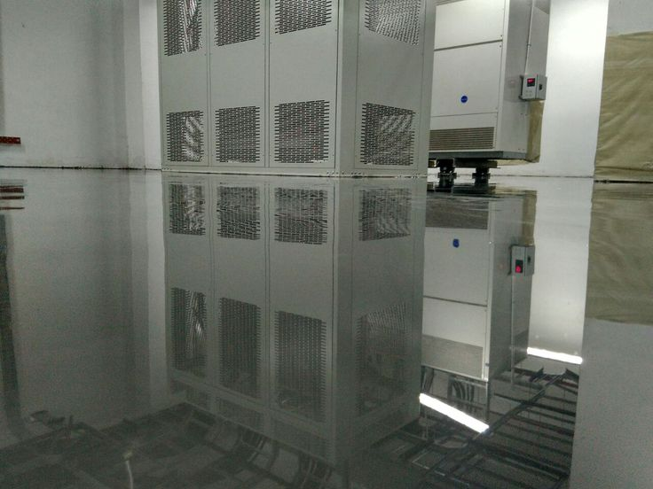 Telkomsigma Polished Concrete Floor