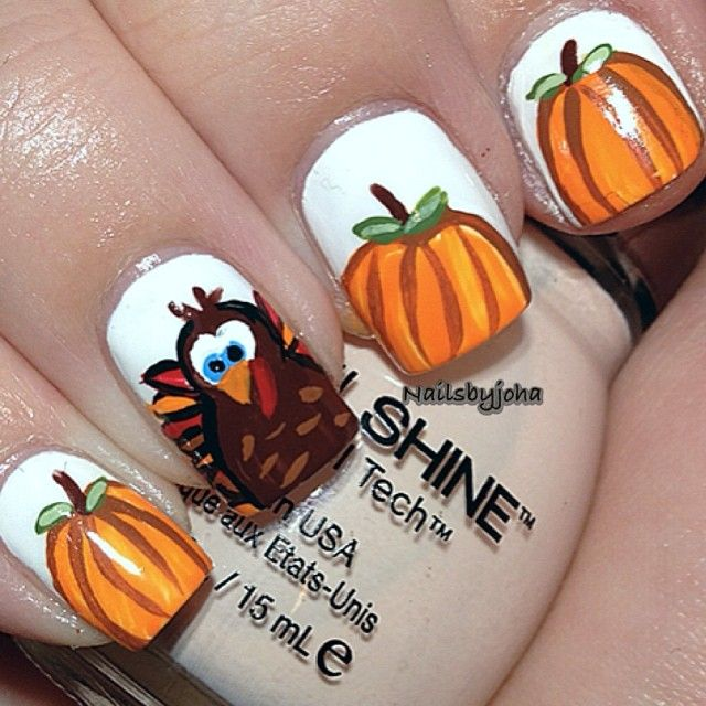 thanksgiving by nailsbyjoha #nail #nails #nailart