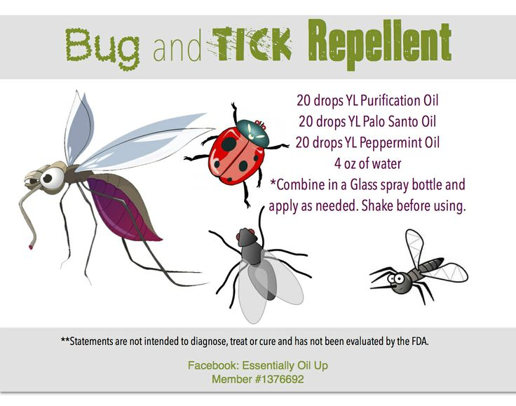 Homemade Bug & Tick Repellent Infused with YL Essential Oils  Come by www.theoildropper.com to purchase!