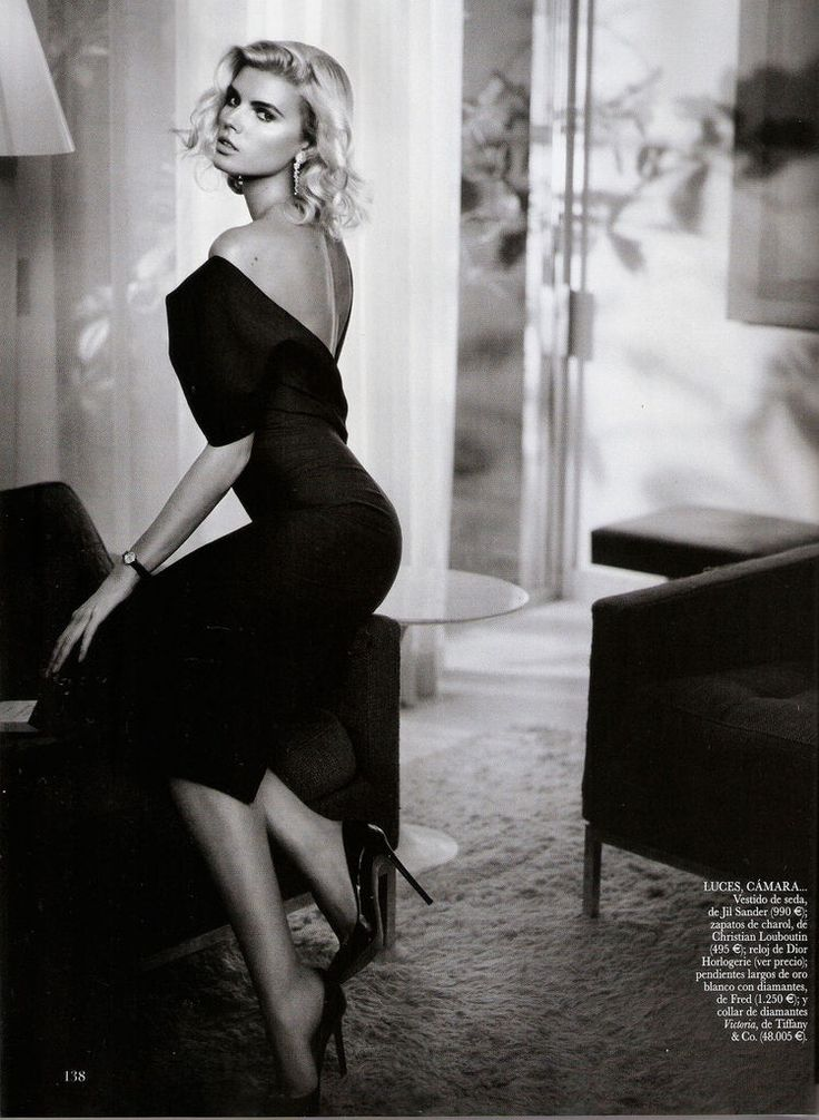 Maryna Linchuk by Vincent Peters for Vogue Espana January 2012