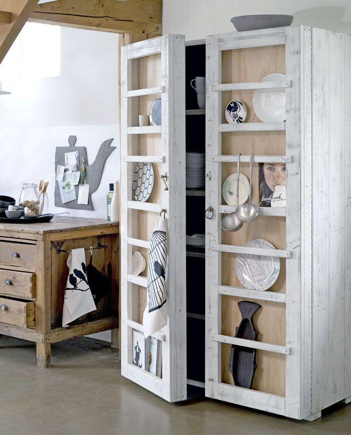 kast - steigerhout - wood - cupboard