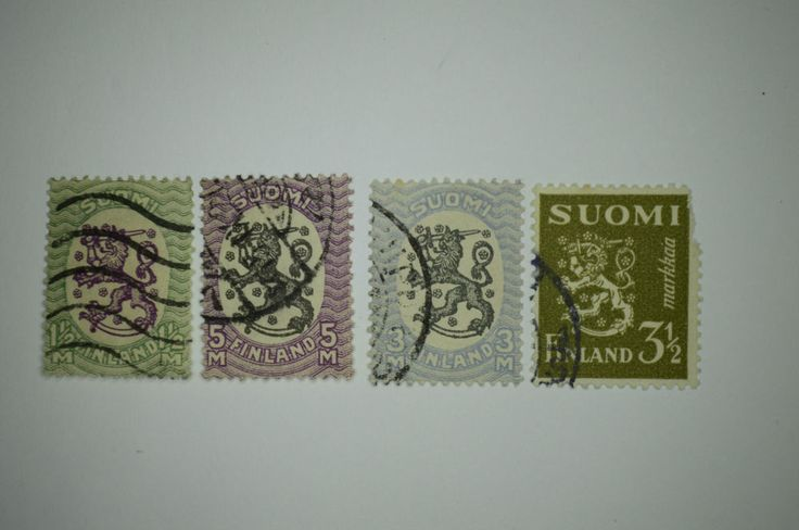 Old Finland Stamps