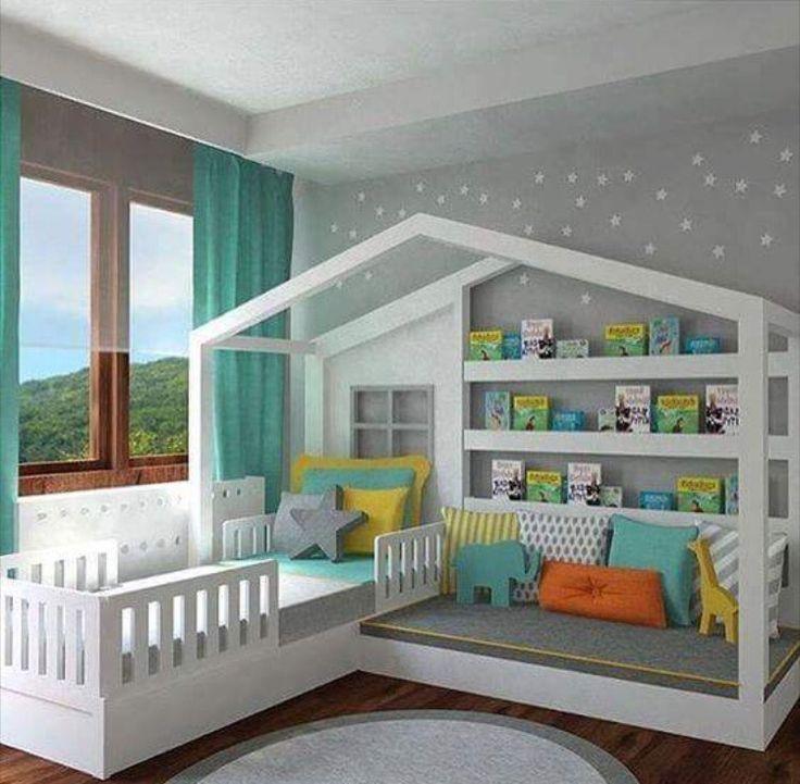 Die besten 25+ Etagenbett Schreibtisch Ideen auf Pinterest - kinderzimmer teilen trennwand