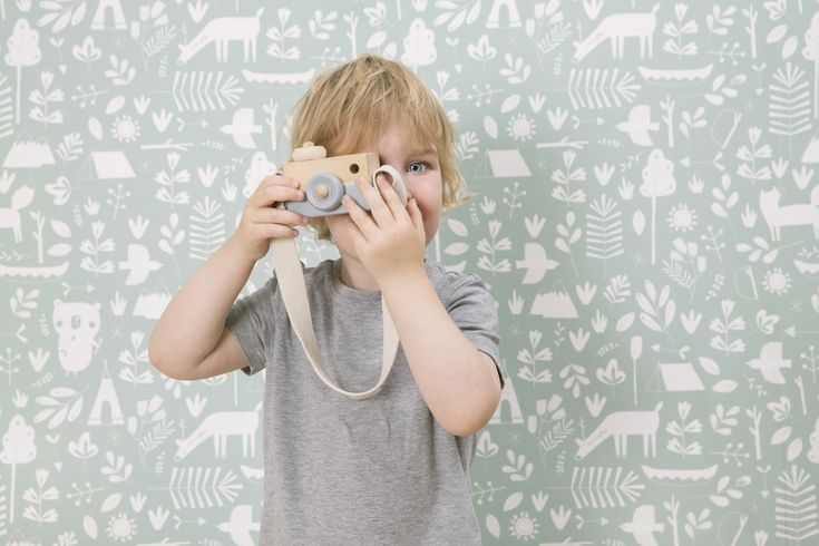 Little Dutch Wallpaper Adventure Mint - Cheer up a bland wall in your baby's nursery with our new range of wallpaper! It creates a beautifull starting point for decorating and styling your mini's room. #baby #nursery #wallpaper #mint #kidsroom #babyroom #nurseryinspiration #interiour #styling