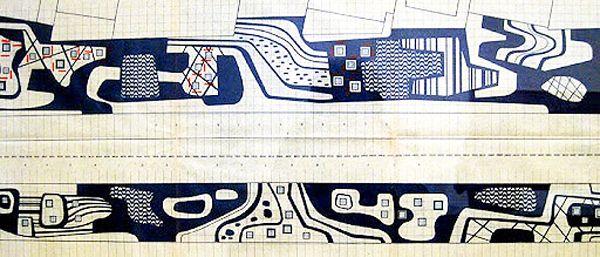 "pelomundodascidades: ""Roberto Burle Marx, Sidewalk patterns, Rio de Janeiro, Brasil, ca 1970 photos by Sérgio Veiga http://en.wikipedia.org/wiki/Roberto_Burle_Marx#Works """