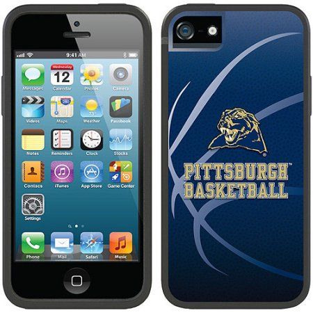 University of Pittsburgh Basketball Design on Apple iPhone 5SE/5s/5 Switchback Case by Coveroo