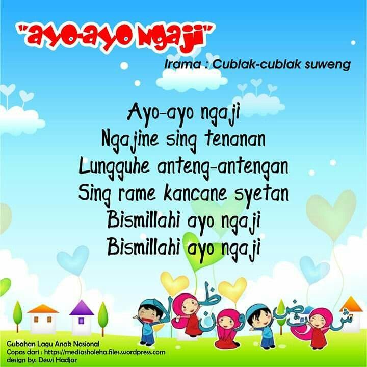 Ayo-ayo Ngaji (original Cublak Cublak Suweng - East Java theme song)