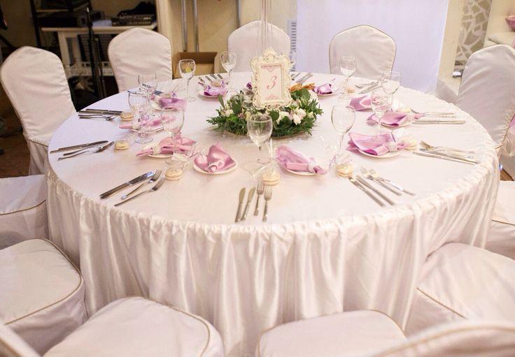 Стол круглый свадебный