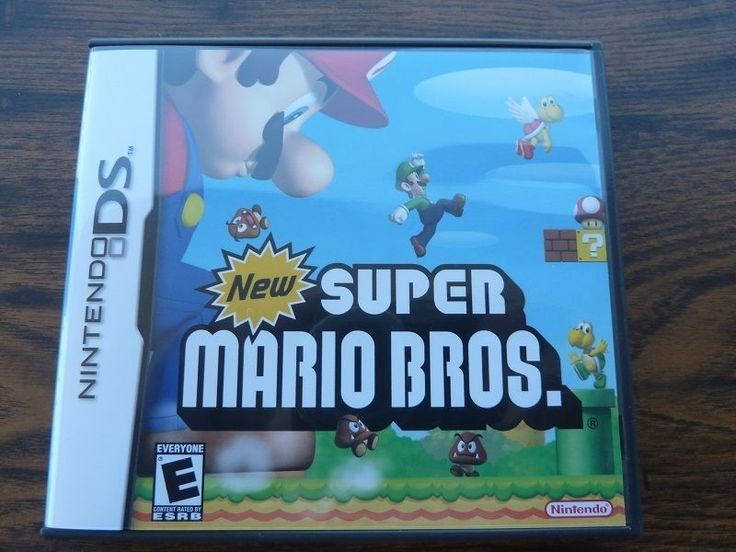 New Super Mario Bros. Nintendo DS Brothers Complete Video Game with Case Manual  http://r.ebay.com/JdLMzx @eBay #mario #nds #nintendods #games