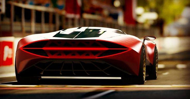 Arash Shahbaz (@arashshahbazofficial) Instagram: «Lamborghini Ferruccio I did way back #lamborghini #ferruccio #bigbutt #cardesign #automotive…»